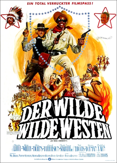 Blazing Saddles poster 3