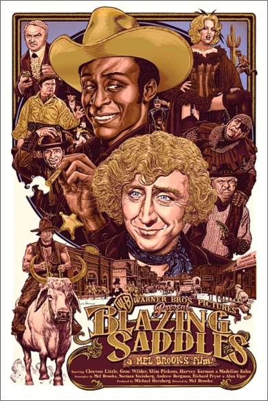 Blazing Saddles poster 4