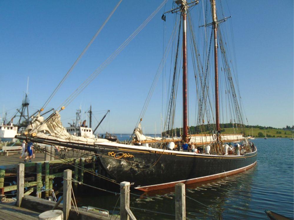 Bluenose at dock - Lunenburg Nova Scotia