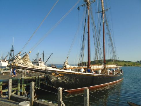 Bluenose at dock - Lunenburg Nova Scotia