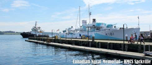 Halifax Harbour - HMCS Sackville