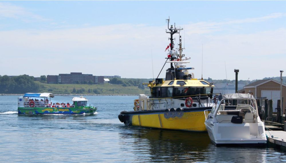 Halifax Harbour Hopper and Pilot boat