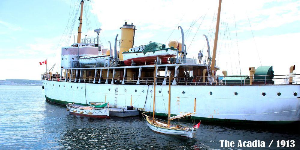 Halifax Harbour - The Acadia