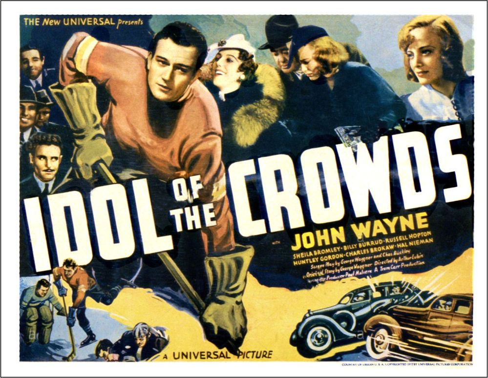 Idol of the Crowds John Wayne 1937 lobby card 5