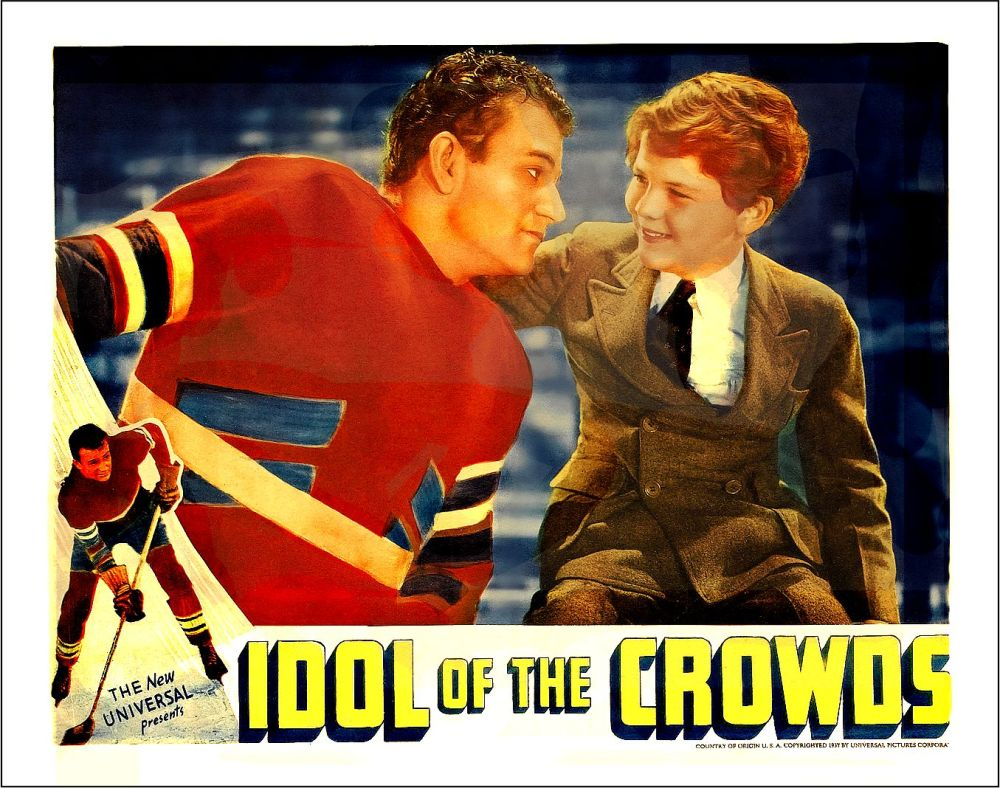 Idol of the Crowds John Wayne 1937 lobby card