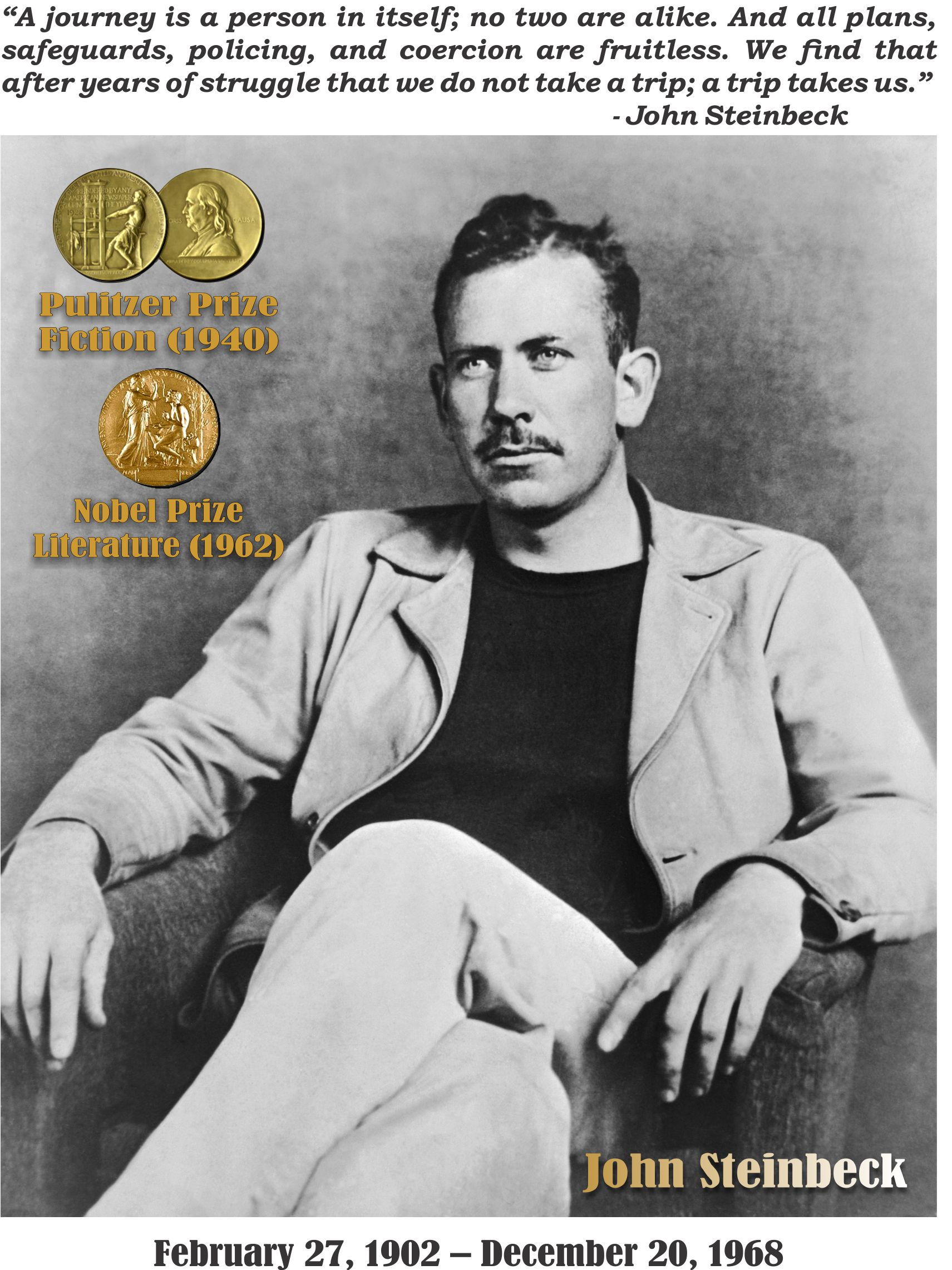 english john steinbeck John steinbeck was born in 1903 in salinas, california, the setting for his popular novel of mice and men although he spent a few years at stanford university, he found that academic life didn't.