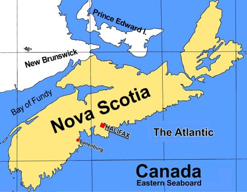 Map Nova Scotia 2