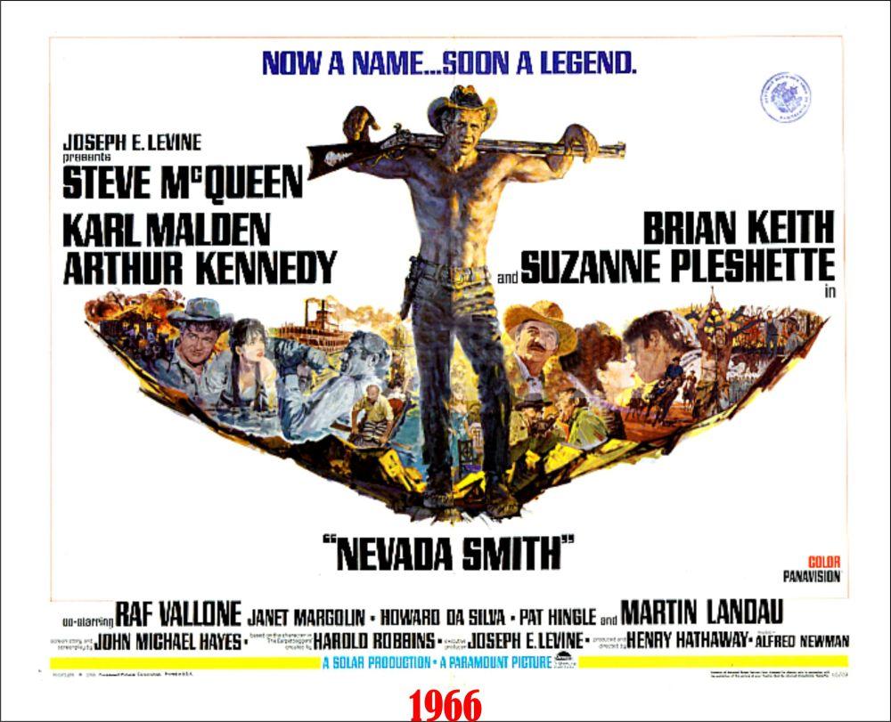 nevada smith poster
