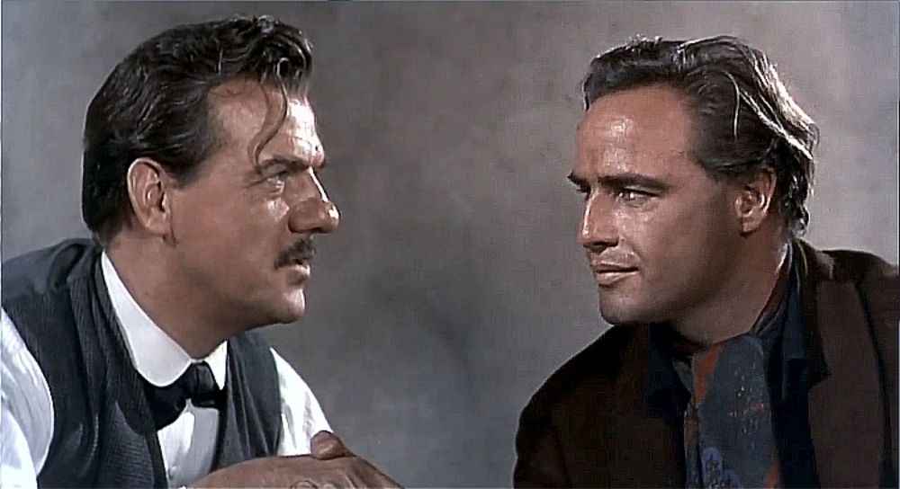 One Eyed Jacks karl malden and brando
