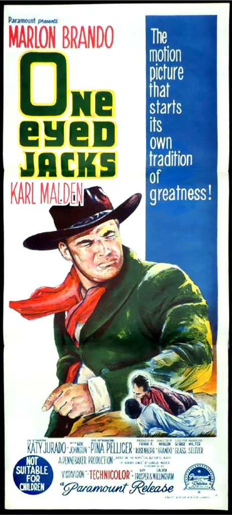 One-Eyed Jacks poster 2