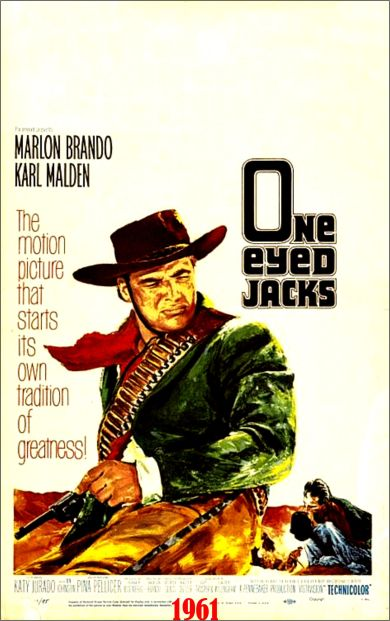 one eyed jacks poster
