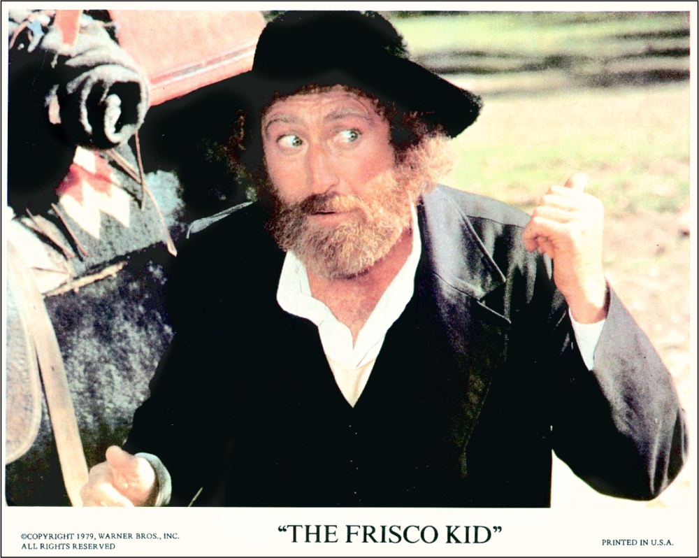 The Frisco Kid Gene Wilder 2