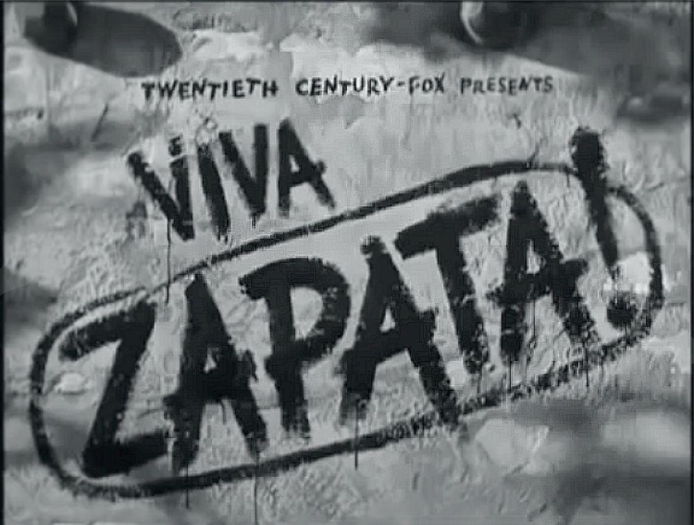 Viva Zapata banner