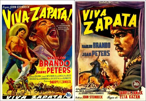 Viva Zapata posters 2