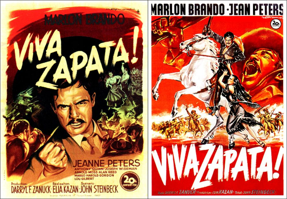 Viva Zapata posters 3