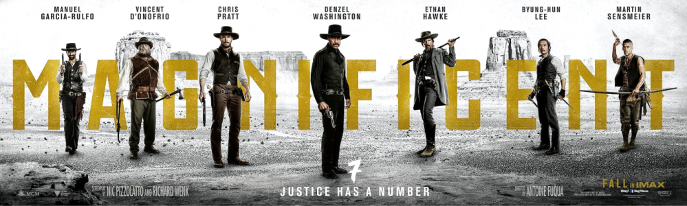 THE MAGNIFICENT 7 2016 - poster 1