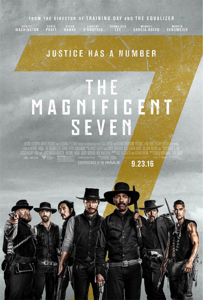 THE MAGNIFICENT 7 2016 - poster 2