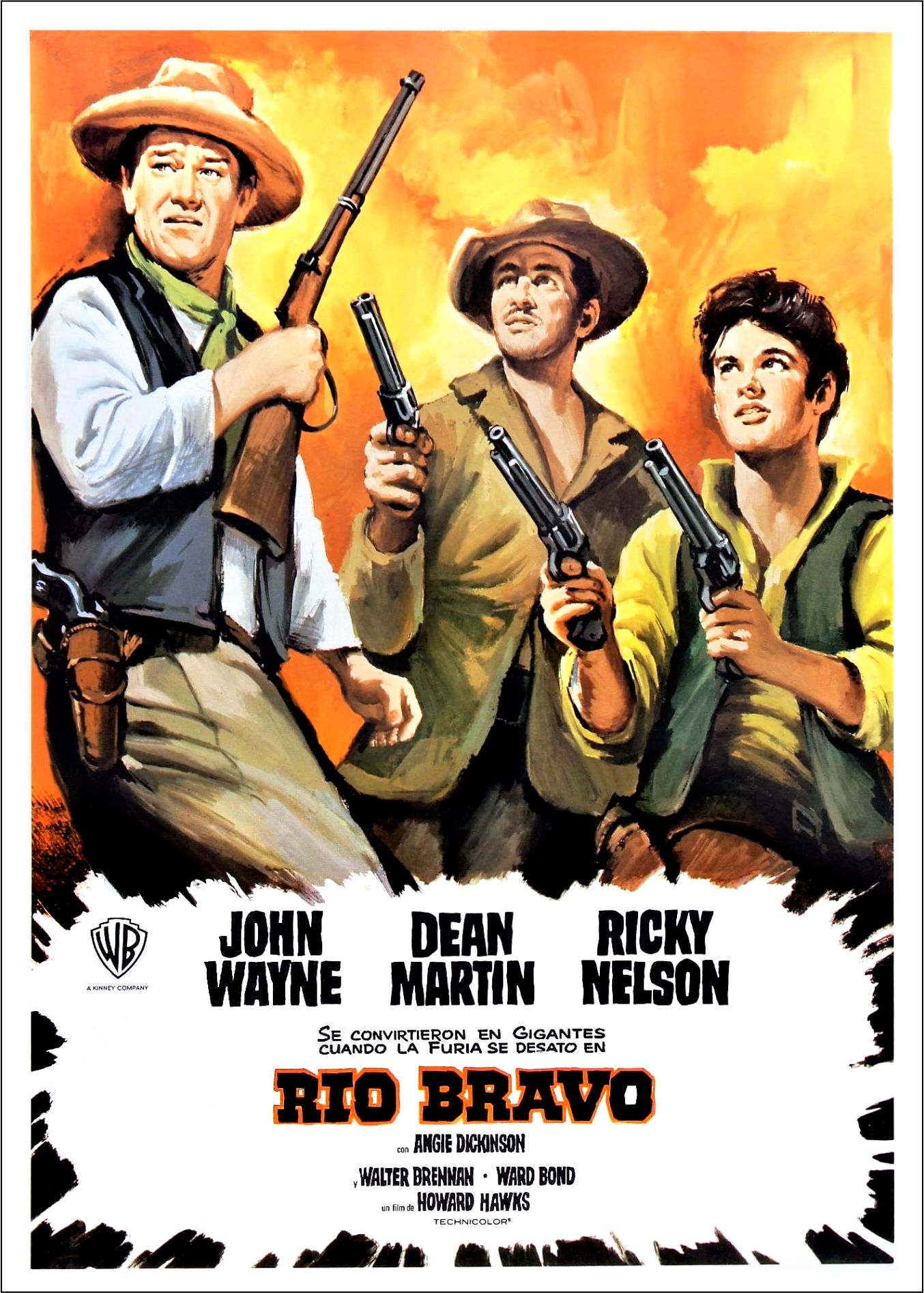 rio bravo 24032011 rio bravo my rifle, my pony, and me/cindy - dean martin, ricky nelson and walter brennan the sun is sinking in the west the cattle go down to the stream the.