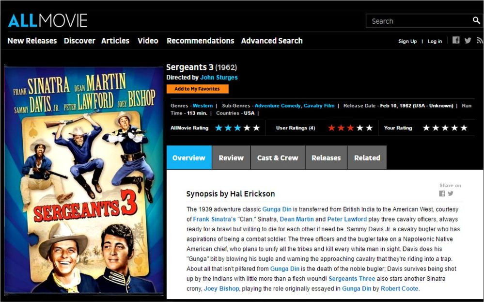 sargeants-3-review-allmovie