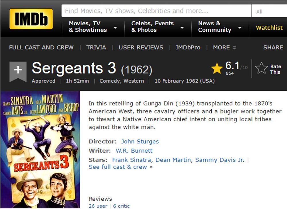 sargeants-3-review-imdb