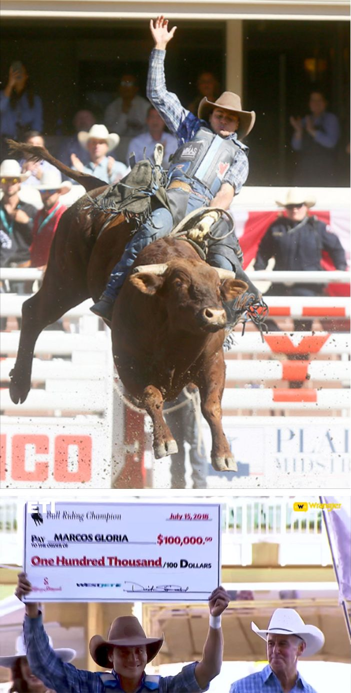 Calgary Stampede Champions 2018 Texans Riding High