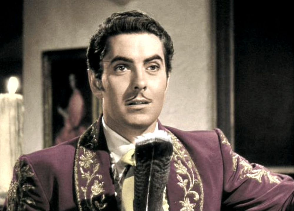 Tyrone Power Westerns Continued The Mark Of Zorro 1940