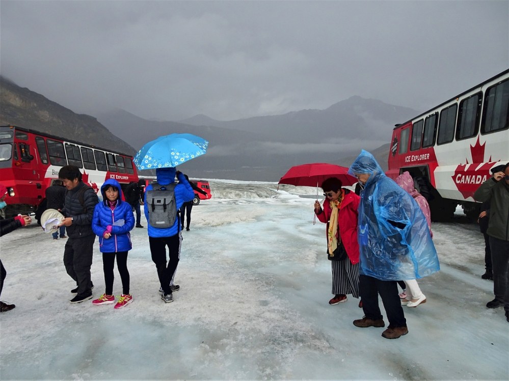 COLUMBIA ICEFIELD on the ice